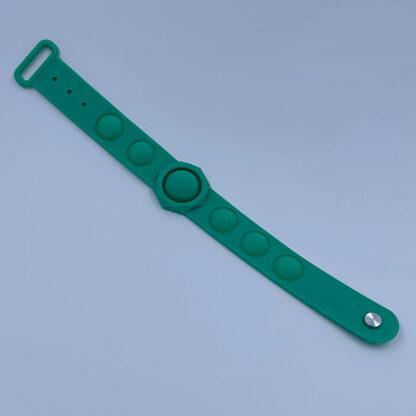 Pop it grøn armbånd Pop Fidget palle.dk