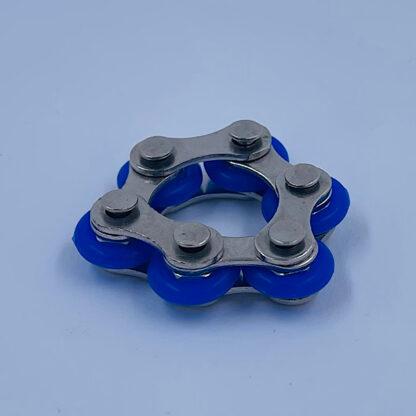 Bike Chain blå Fidget Toy palle.dk